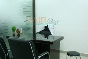 hair clinic in hyderabad consultation room