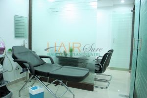 advanced hair clinic laser treatment room