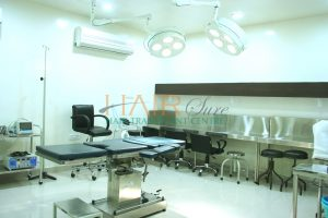Hair transplant clinic in hyderabad Operation theater room