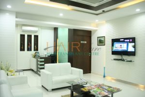 best hair clinic in hyderabad reception