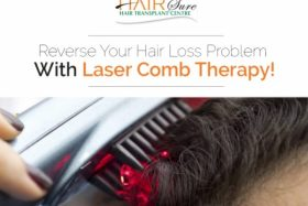 Reverse Your Hair Loss Problems With Laser Comb Therapy!
