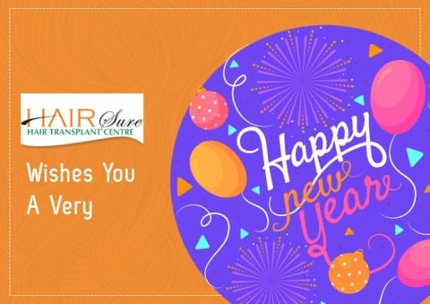 Hairsure Wishes You A Very Happy New Year!