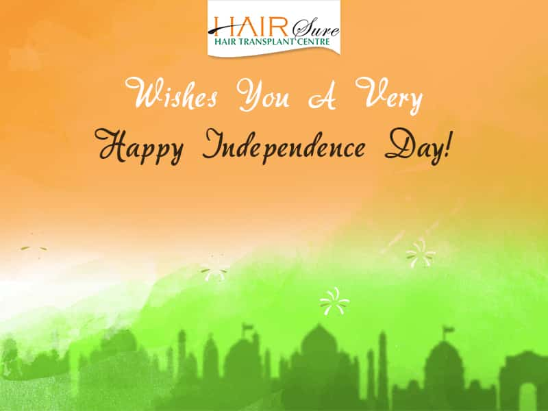 Hairsure wishes you a happy independence day