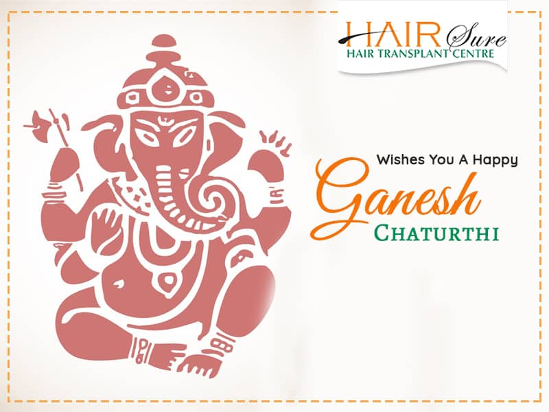 Hairsure Wishes You A Happy Ganesh Chaturthi