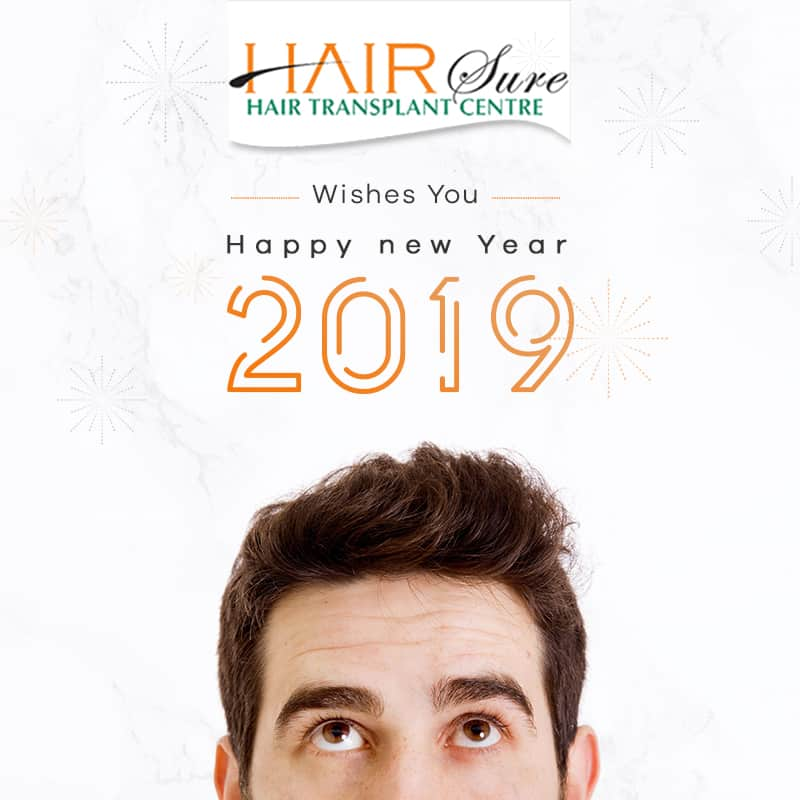 Hairsure Wishes You A Joyful And Blessed New Year, 2019