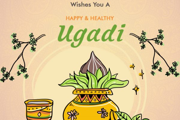 We Wish This Ugadi Fill Up your Life With Laughter, Joy & Peace