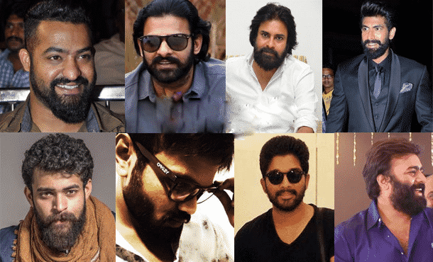 Beard Trend in Tollywood Many stars to followed in Hyderabad, Hair treatment specialist near me