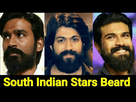 South Actors Who the Nailed Beard styles at Hair sure, One of the best beard transplant centre in Hyderabad