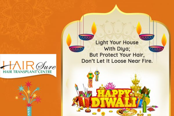 Light A Diya Of Happiness This Happy Diwali, But Protect Your Hair, Don't Let It Loose Near Fire – HairSure Clinic