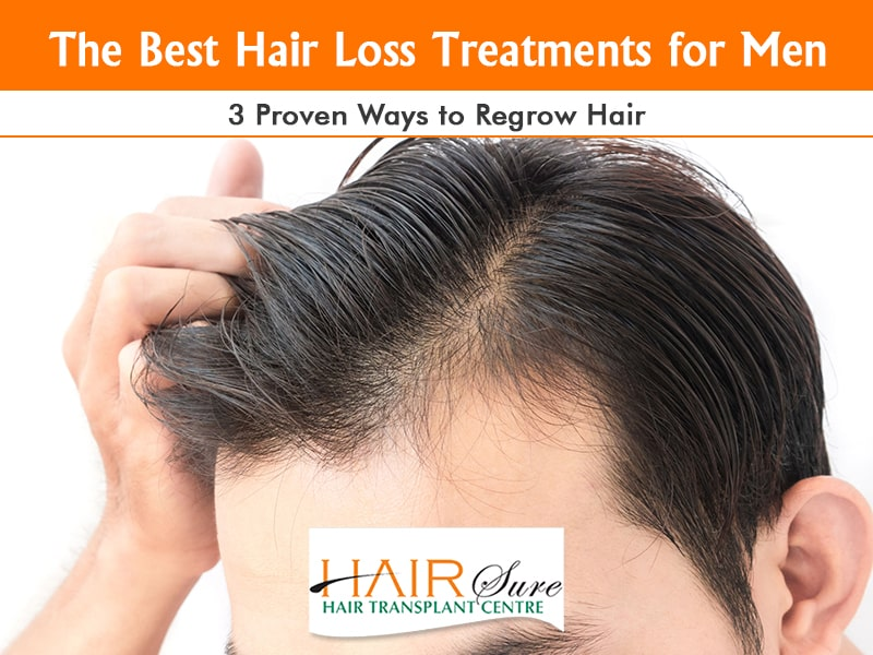 The Best Hair Loss Treatments For Men 3 Proven Ways To Regrow Hair Hair Sure