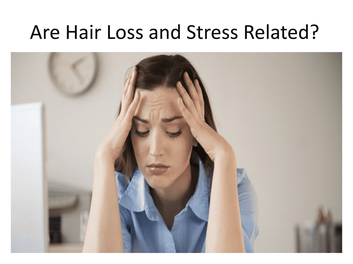 Hair Fall Due To Stress and its treatment in Hyderabad, best Trychologist near me for Hair