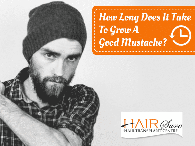 How Long Does It Take To Grow A Good Mustache