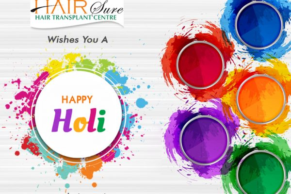 Holi wishe by Hair sure clinic in Hyderabad, Hair clinic near me