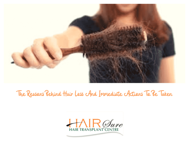 Best treatment for hair loss in female by Hair sure clinic, one of the best Hair restoration centre in Hyderabad