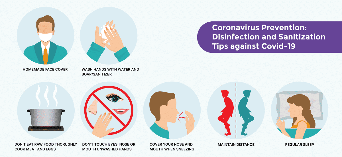 Disinfection and sanitization tips by Hair sure clinic, one of the best hospital for Hair transplantation in Hyderabad
