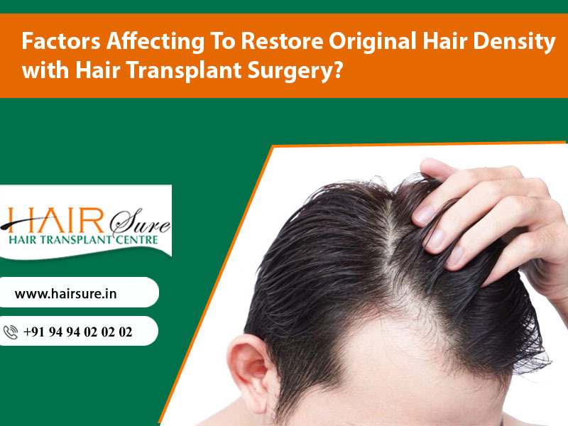 Natural-looking hair transplantation at Hair Sure Clinic, One of the Best Hair Transplantation surgery Hospitals in Hyderabad