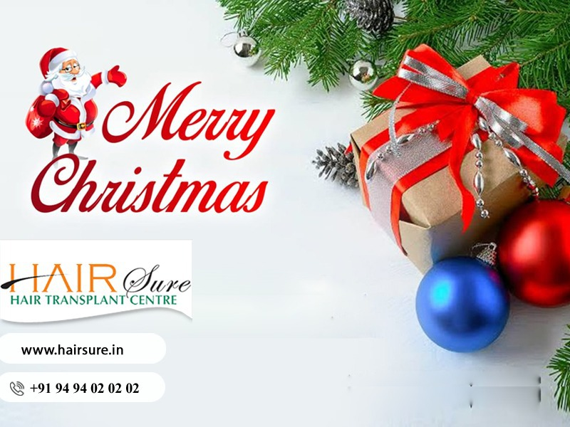May This Christmas Bring All The Joy To You and Your Family by Hair Sure Clinic, One of the Best Hair Transplantation Centre in Hyderabad