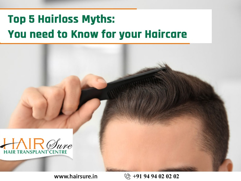 Top 5 Hair Care myths you need to stop believing, hair transplant hospital near me
