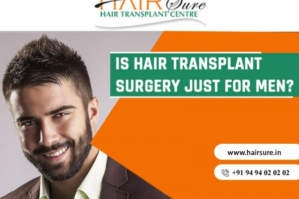 The Ultimate Hair Transplant Guide for Men at Hair Sure, hair transplant treatment center near Habsiguda