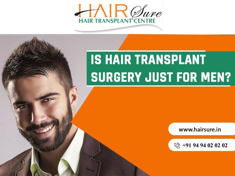The Ultimate Hair Transplant Guide for Men at Hair Sure, hair transplant treatment center near Habsiguda
