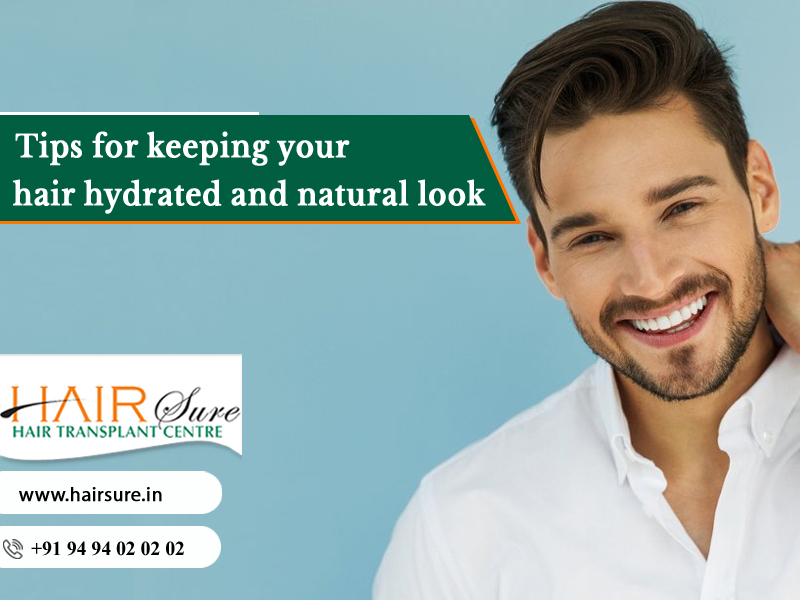Know the best ways to moisturize your Hair at Hair Sure, One of the best hair treatment Centers in Hyderabad