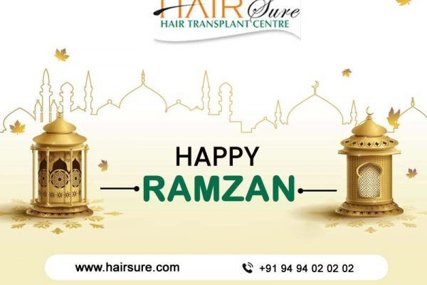 Stay safe, stay blessed – Happy Ramzan – Hair Sure