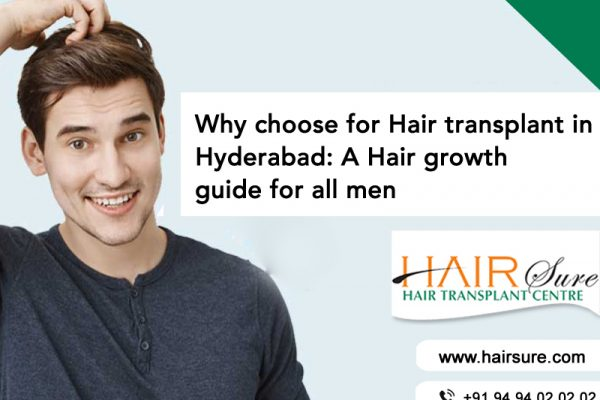 Why Choose Hairsure For Hair Transplant In Hyderabad: A Hair Growth Guide For All Men
