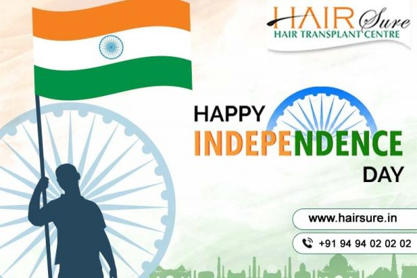 Wishing You a Very Happy Independence Day – Hair Sure Clinic