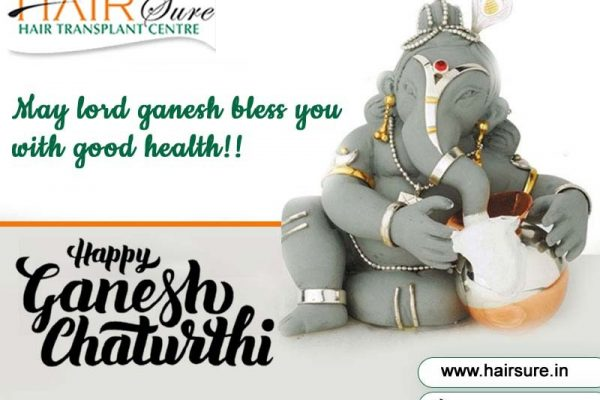 We wish you a happy & prosperous Ganesh Chathurthi – Hair Sure Clinic