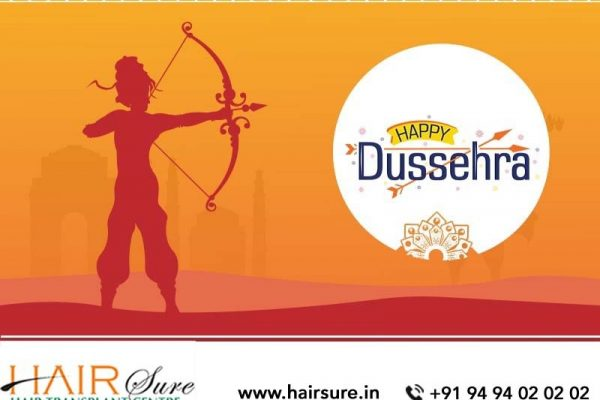 May This Festive Season Of Dussehra Fulfill All Your Wishes – Hair Sure